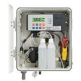 Lento–330–2analizador de cloro de proceso, con RS485, vigilancia GSM, lectura de temperatura, PH, ORP salida para bomba de dosificación 230VAC