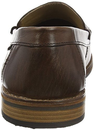 Ben Sherman Stepney Burnish, Mocassins Homme Marron - Brown (Brown 002)