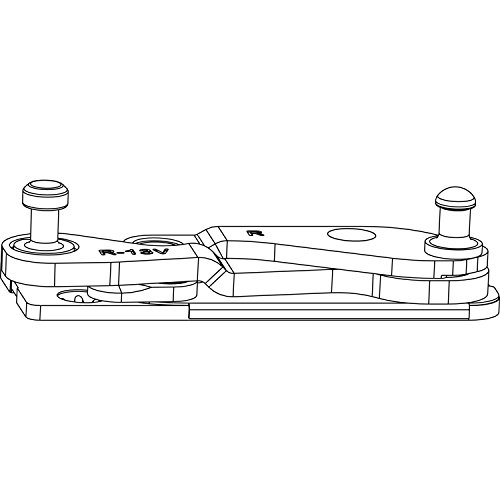 MACO Ecklager POWER 3-flg. PVC FT 30 mm, 13V, links (215833)
