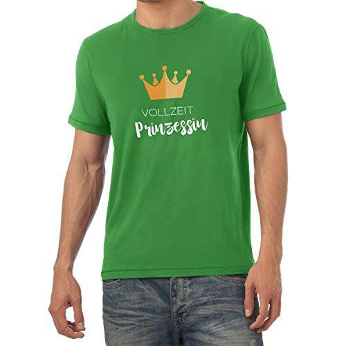 NERDO Vollzeit Prinzessin - Herren T-Shirt, Größe XXL, ()