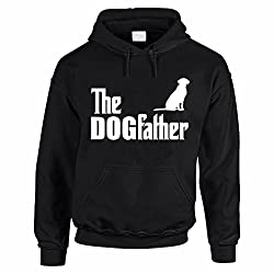 THE DOGFATHER LABRADOR - Dog / Pet / Novelty / Funny Men's Hoody / Hoodies