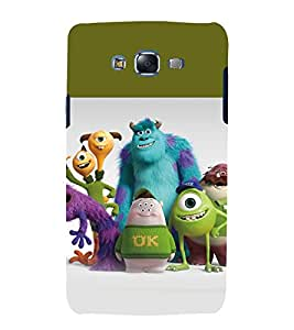 printtech Disneyy Monster Cartoon Back Case Cover for Samsung Galaxy Grand 3 G720 / Samsung Galaxy Grand Max G720