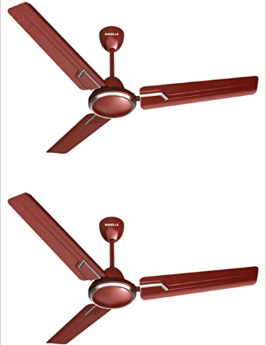 Havells ANDRIA 1200 mm Sweep DUST RESISTANT Ceiling Fan Set of 2 Fan (MAROON)