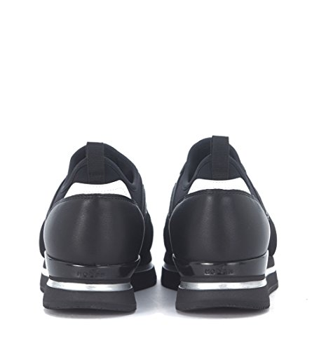 Basket Hogan H222 à la chaussette en néoprène noir Noir
