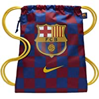 NIKE FC Barcelona Stadium Football Gym Sack Bolsa de Gimnasio, Unisex Adulto, Deep Royal Blue/Noble Red/Varsity Maize, Talla Única