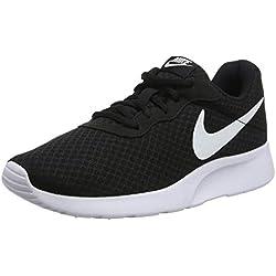 Nike Tanjun, Zapatillas de Running para Mujer, Negro (Black/White 011), 38 EU