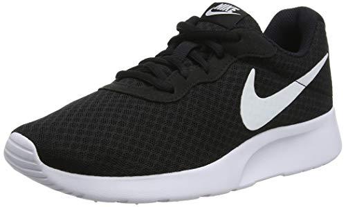 Nike Damen Tanjun Laufschuhe, Schwarz (Schwarz/Weiß), 36.5 EU