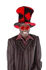 Elope A9909 - Sombrero para disfraz, diseño de palos de cartas de póquer
