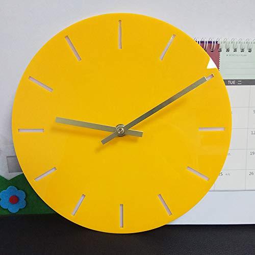 Uhr Mode acryl abnehmbare DIY acryl wanduhren dekorative Uhr hausgarten küche zubehör Uhren Alarm elektronische Uhren
