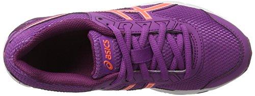 Asics Unisex-Kinder Gel-Galaxy 9 Gs Turnschuhe Violett (Orchid/flash Coral/dark Purple)