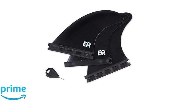 Eisbach Riders Future Surfboard Thruster Fin Set Size G5 Medium Fibreglass Honeycomb with Fin Key