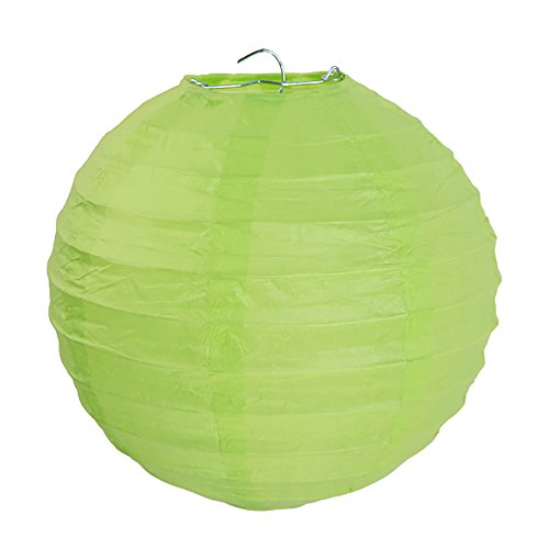 NEU Lampion M, Ø 20 cm, grün, 2 (Kostüm Ballon Grüne)