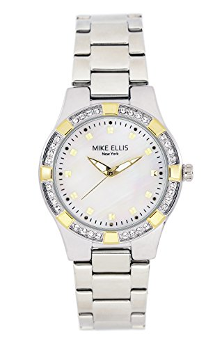 mike-ellis-new-york-damen-armbanduhr-luxury-analog-quarz-edelstahl-sl2968a2