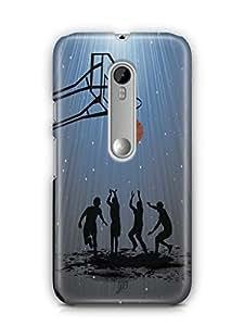 YuBingo Let's Play Basketball Mobile Case Back Cover for Motorola G3 Turbo