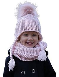 f6b79ed2050e 100% coton - ensemble combiné d hiver Hilltop pour enfant - ensemble  composé d une écharpe tube et d un bonnet-bandeau assorti. Pour…