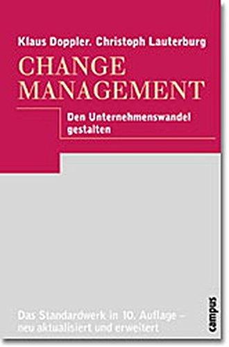 Change Management. par  Christoph Lauterburg
