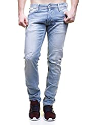 jeans japan rags 711 basic bleu