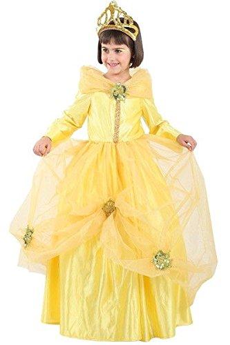Disfraz de princesa Bella niña - Único, 3 a 5 años