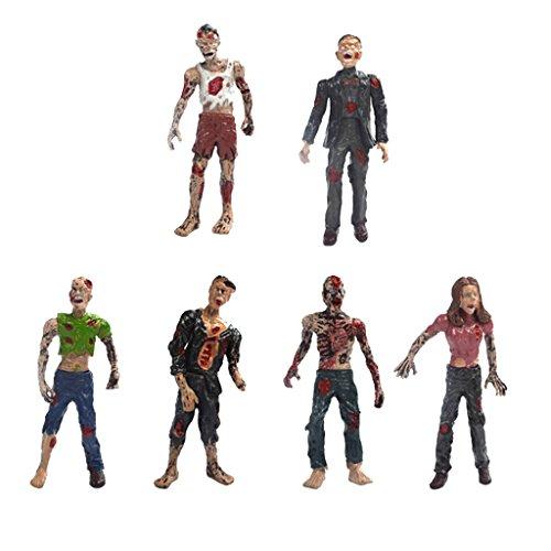 alking Leichen Zombie Action Figuren ca. 10 cm für Filmfiguren Sammlung ()