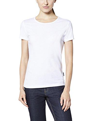 EXPAND EXPAND 1401800 Damen Arbeits T-Shirt 001 weiß XL