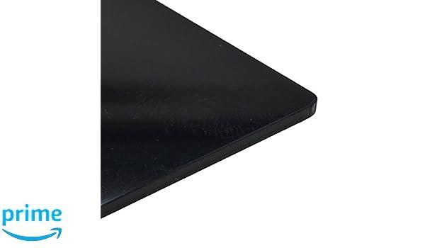CrestGlass 10mm Black Gloss Acrylic Plastic Sheet 7 SIZES TO CHOOSE 297mm x 210mm // A4
