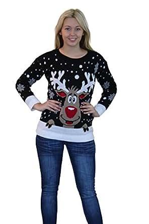 Girltalk Christmas Jumper Novelty Knitted Jumper 3050