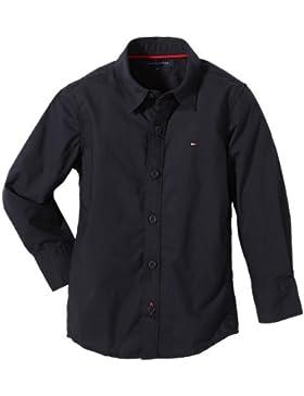 Tommy Hilfiger Jungen Hemd SOLIDPOPLINSLIMFITSHIRTLong Sleeve/E557116569