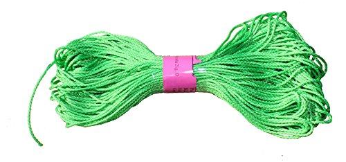 GEFLOCHTENE Polypropylen Seil PP Seil 2mm Bright Grün 100Meter -