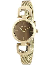 DKNY  0 - Reloj de cuarzo para mujer, con correa de acero inoxidable, color dorado