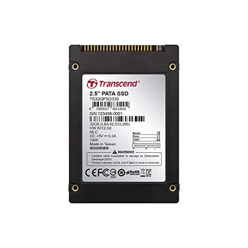 Transcend TS32GPSD330 interne SSD 32GB (6,4 cm (2,5 Zoll), MLC) schwarz - Ibm-ide-festplatte