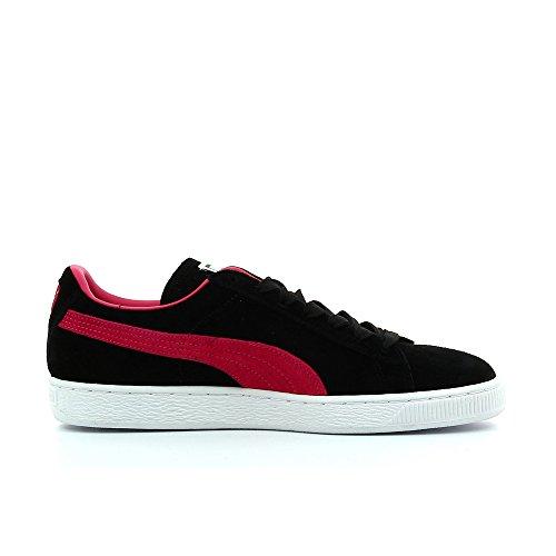Puma, Sneaker uomo Nero Schwarz / Pink Nero (Schwarz / Pink)
