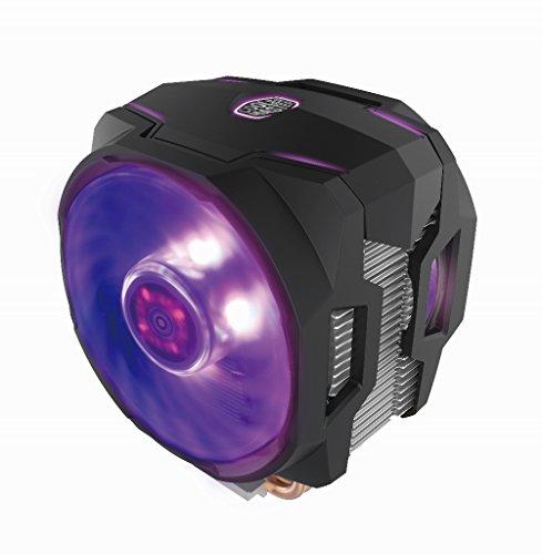 Cooler Master MasterAir MA610P RGB CPU-Kühler '6 Heatpipes, 2 x MasterFan AB 120 RGB Lüfter, RGB LED' MAP-T6PN-218PC-R1 (6 Heatpipe)