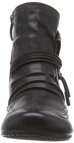 Tamaris 25091 Damen Kurzschaft Stiefel Mehrfarbig (Black 001)