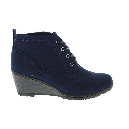 Marco Tozzi Damen 25111 Stiefel Blau (Navy)