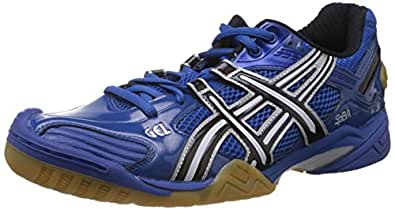 ASICS Men's Gel-Domain 2 Blue Mesh Tennis Shoes - 8 UK