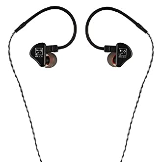 Hörluchs - HL-1200, in-Ear Kopfhörer - Schwarz