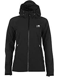 Karrimor Womens Ridge Jacket Waterproof Breathable Mesh Hooded Full Zip Top