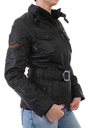 khujo - Blouson - Uni - Manches Longues - Femme Noir Noir S Noir - Noir