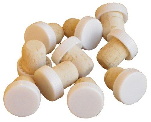 plastic-top-corks-10pk-white-wine-bottle-press-tops-homebrew-cider-wine-making