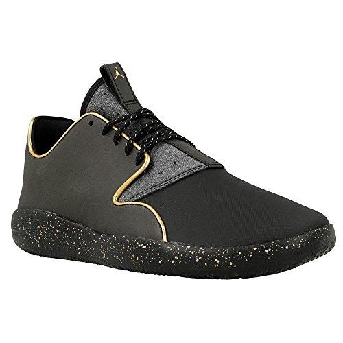 Nike - Jordan Eclipse Holiday, Scarpe sportive Uomo Nero / Oro (Black / Metallic Gold-Mtllc Gold)