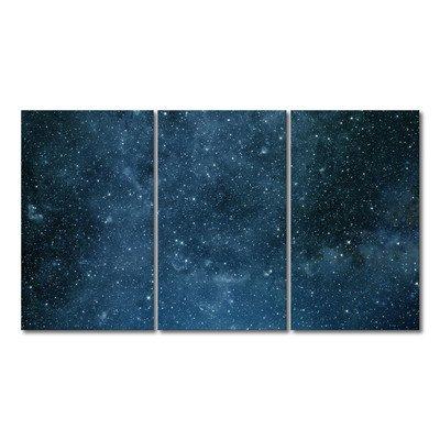 """Preisvergleich Produktbild WandbilderXXL® Gedrucktes Leinwandbild """"Endless Space"""" 180x100cm - in 6 verschiedenen Größen. Fertig gespannt auf Holzkeilrahmen. Günstige Leinwanddrucke für Kinderzimmer Schlafzimmer."""