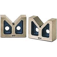 Ozar AVB-0627 Stainless Steel Casted V-Blocks (Multicolor)