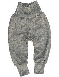 Engel Pantalon pour bébé en laine et soie
