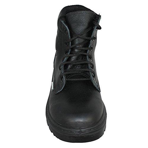Ergos Roissy S3 SRC Sicherheitsschuhe Trekkingschuhe hoch Schwarz B-Ware Schwarz