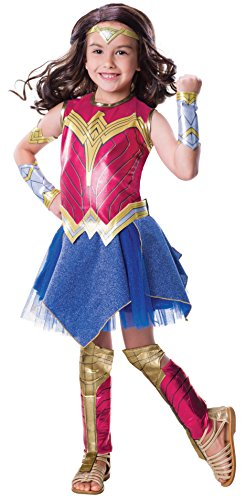 Justice League Movie Wonder Woman Deluxe Costume Child Small
