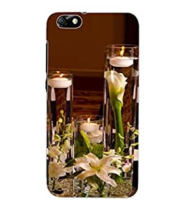 ColourCraft Lovely Candles Design Back Case Cover for HUAWEI HONOR 4X