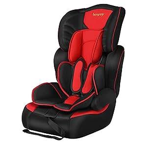 besrey 3 in 1 baby safety car seat children booster group 1 2 3 economical version for infant. Black Bedroom Furniture Sets. Home Design Ideas
