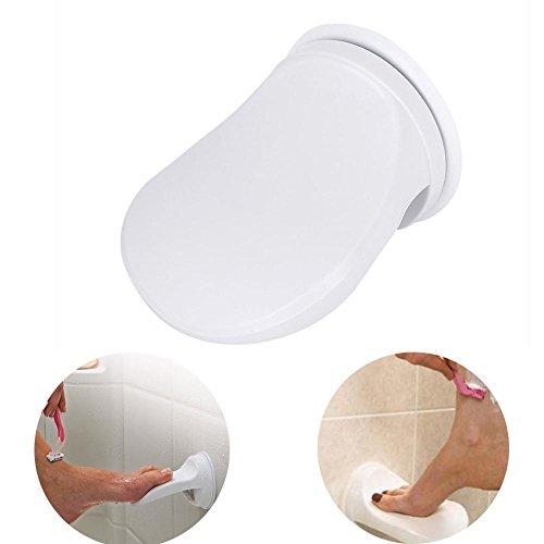 Star Eleven Kunststoff Dusche Fußstütze Saugnapf Shaving Badezimmer Bein Hilfe Dusche Fuß Schritt