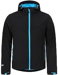 ICEPEAK Herren Lukas Softshell Jacket, Black, 50