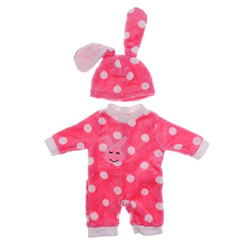 Baoblaze Puppen Sommer Kleidung Set für 18